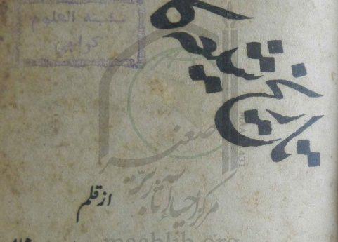 تاریخ شیعہ کا مختصر خاکہ