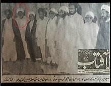 شیعہ علماء کونسل کے اراکین اجلاس سے قبل گروپ فوٹو، علامہ حسین بخش جاڑا اعلی اللہ مقامہ بھی موجود ہیں
